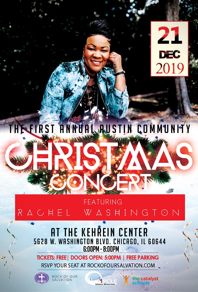 2019 Christmas Concert Rachel Washington 2