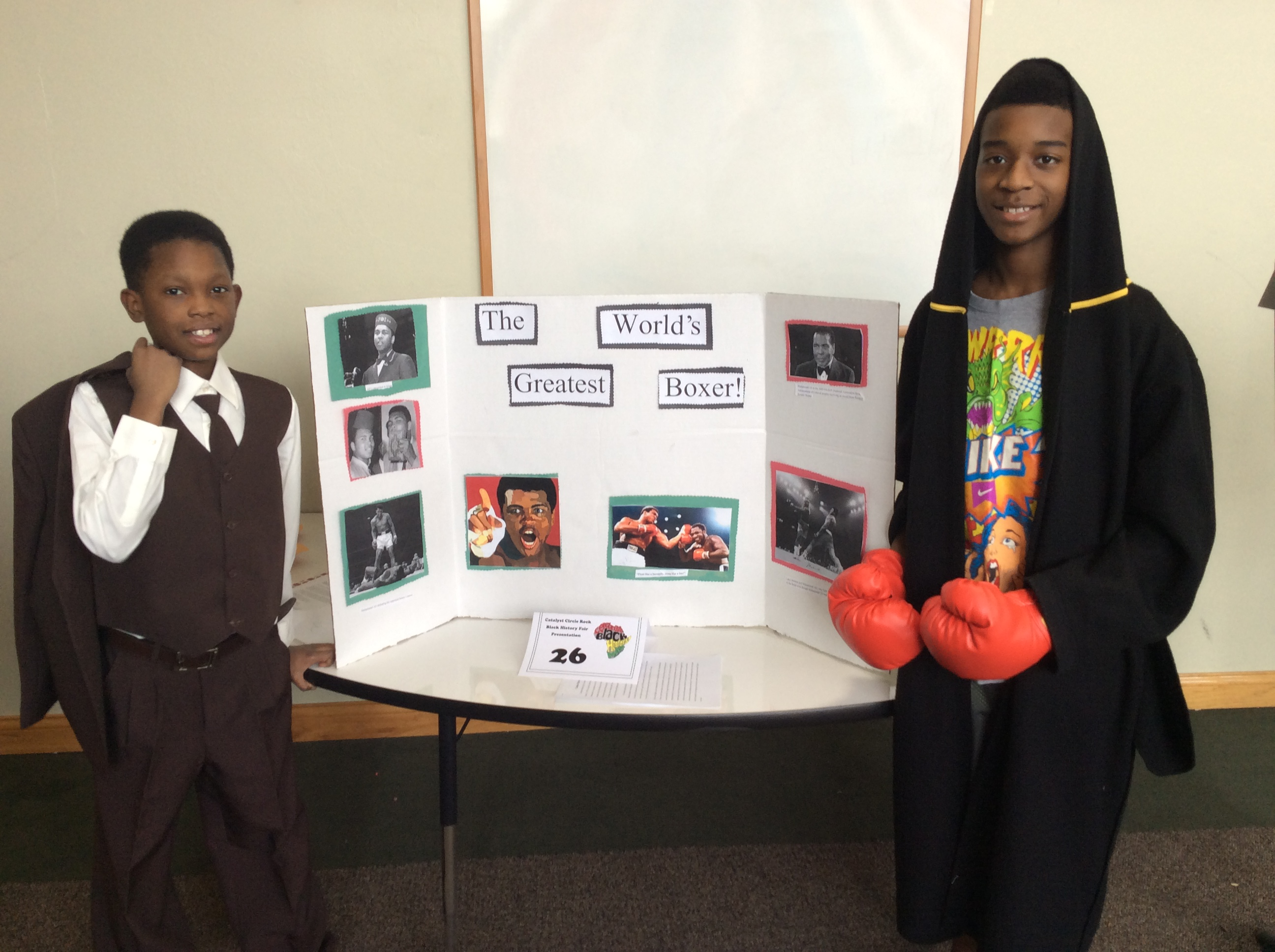 Black History Research Fair