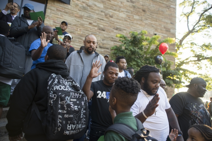 Fathers Take Your Child to School 2018 3