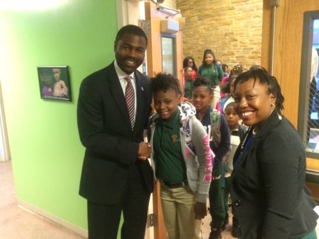 LaShawn Ford Principal for a Day