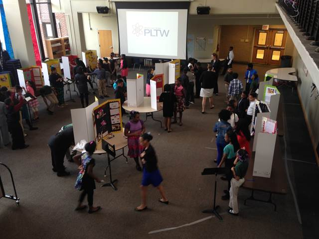 PLTW Science Fair